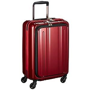 [エバウィン] 軽量スーツケース Be Light フロントオープン 機内持込可 機内持込可 30.0L 55cm 2.8kg EW31240 WN ワインレッド