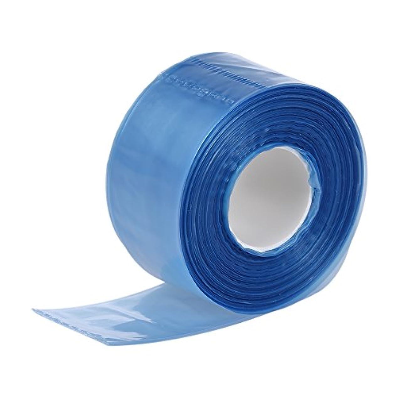 脇に加速度強化Decdeal 200pcs / ボックス メガネの足のためのプラスチック 使い捨てのカバー 細長い袋の髪の着色染色DIYツール