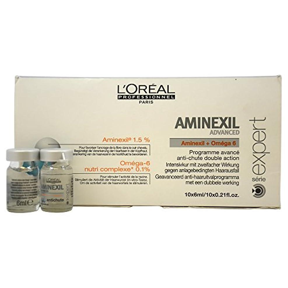マンモス暫定寝具ロレアル エキスパート ア三ネクシル コントロール 10個 L'Oreal Expert Aminexil Control 10 Units Advanced [並行輸入品]