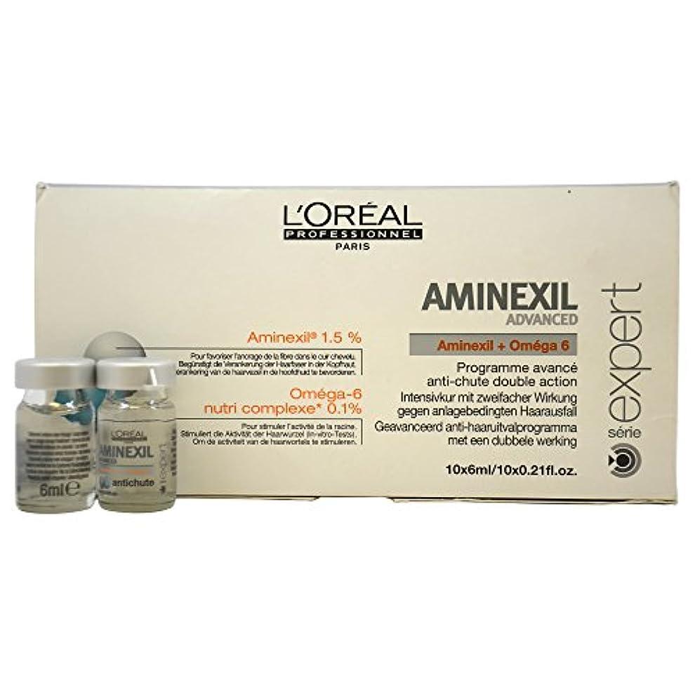 労働者シュリンク写真ロレアル エキスパート ア三ネクシル コントロール 10個 L'Oreal Expert Aminexil Control 10 Units Advanced [並行輸入品]
