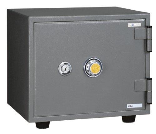 ダイヤル式小型耐火金庫ES-9 bg2576