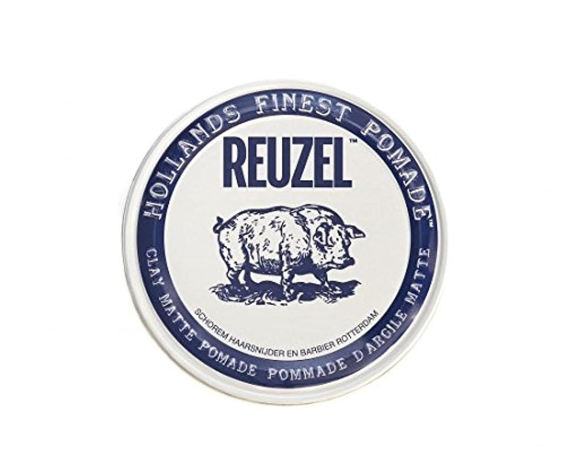 カウンタショートすべてルーゾー REUZEL CLAY MATTE クレイマット ポマード ホワイト 35g