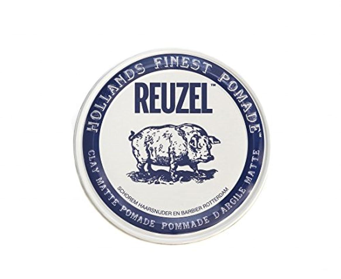 雄大な健康発明ルーゾー REUZEL CLAY MATTE クレイマット ポマード ホワイト 35g