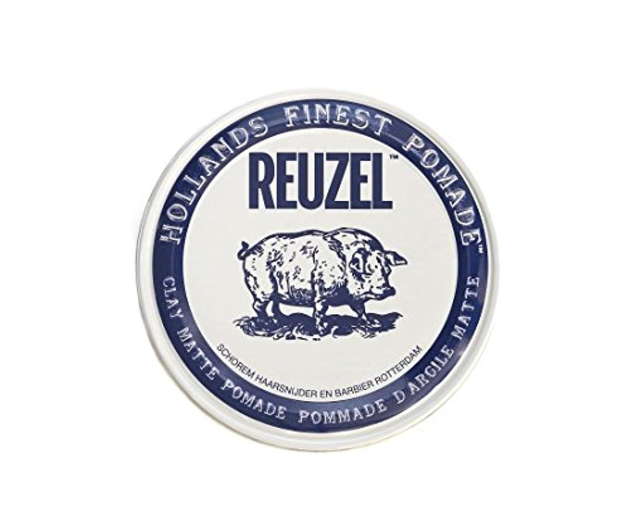 レプリカ楽しむシンプルさルーゾー REUZEL CLAY MATTE クレイマット ポマード ホワイト 35g