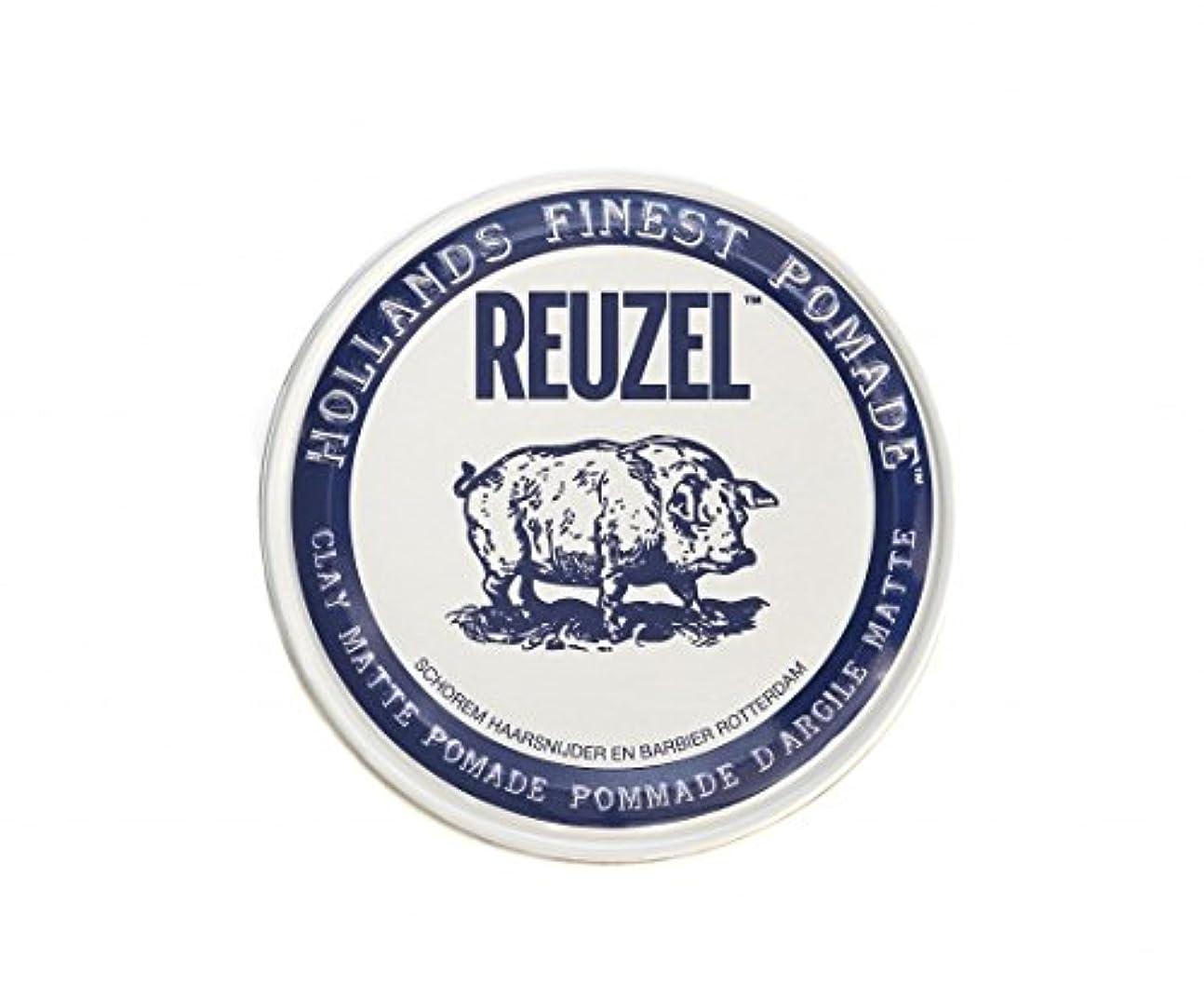 ページワインに勝るルーゾー REUZEL CLAY MATTE クレイマット ポマード ホワイト 35g