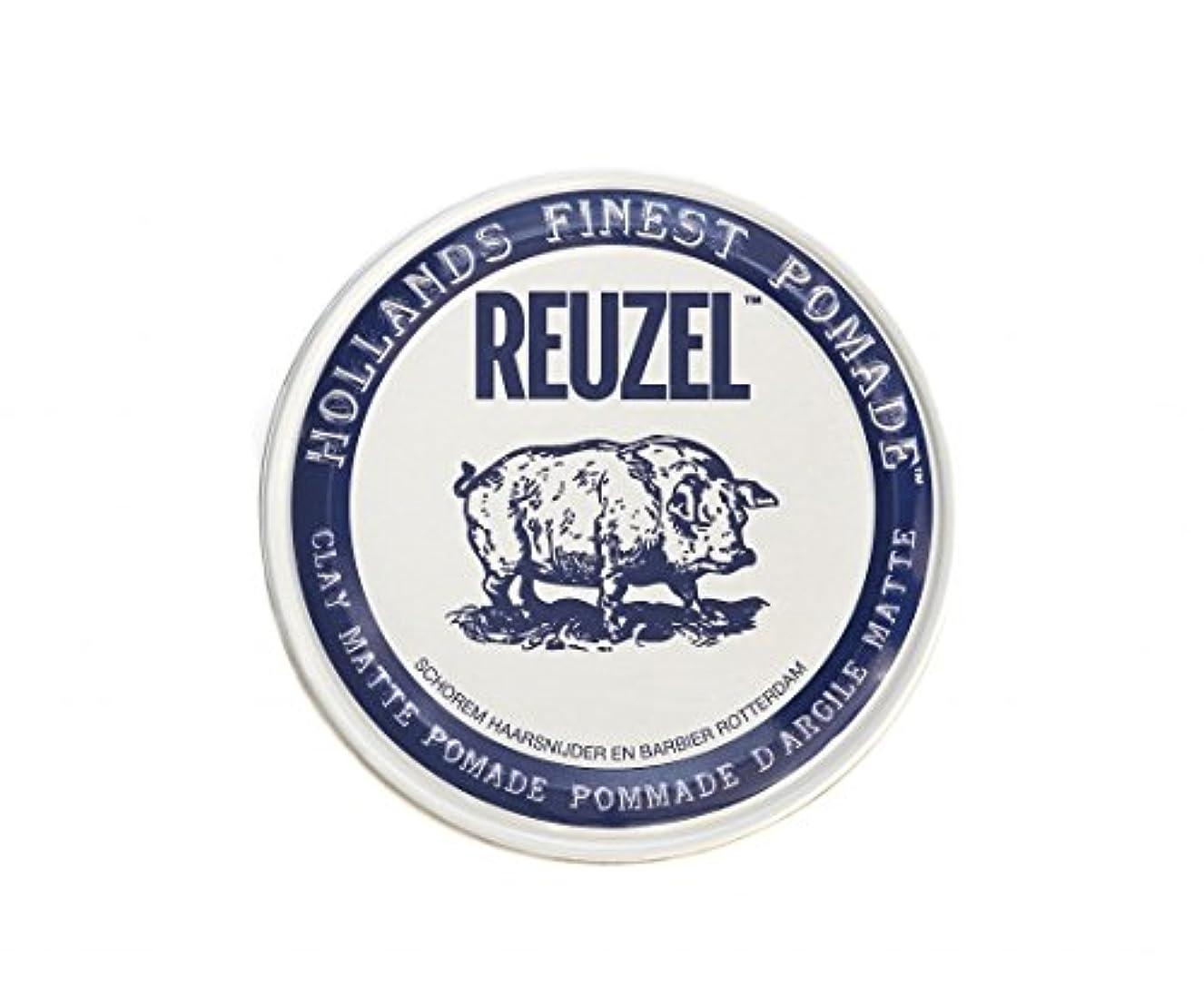 頑固な空白酸化物ルーゾー REUZEL CLAY MATTE クレイマット ポマード 340g