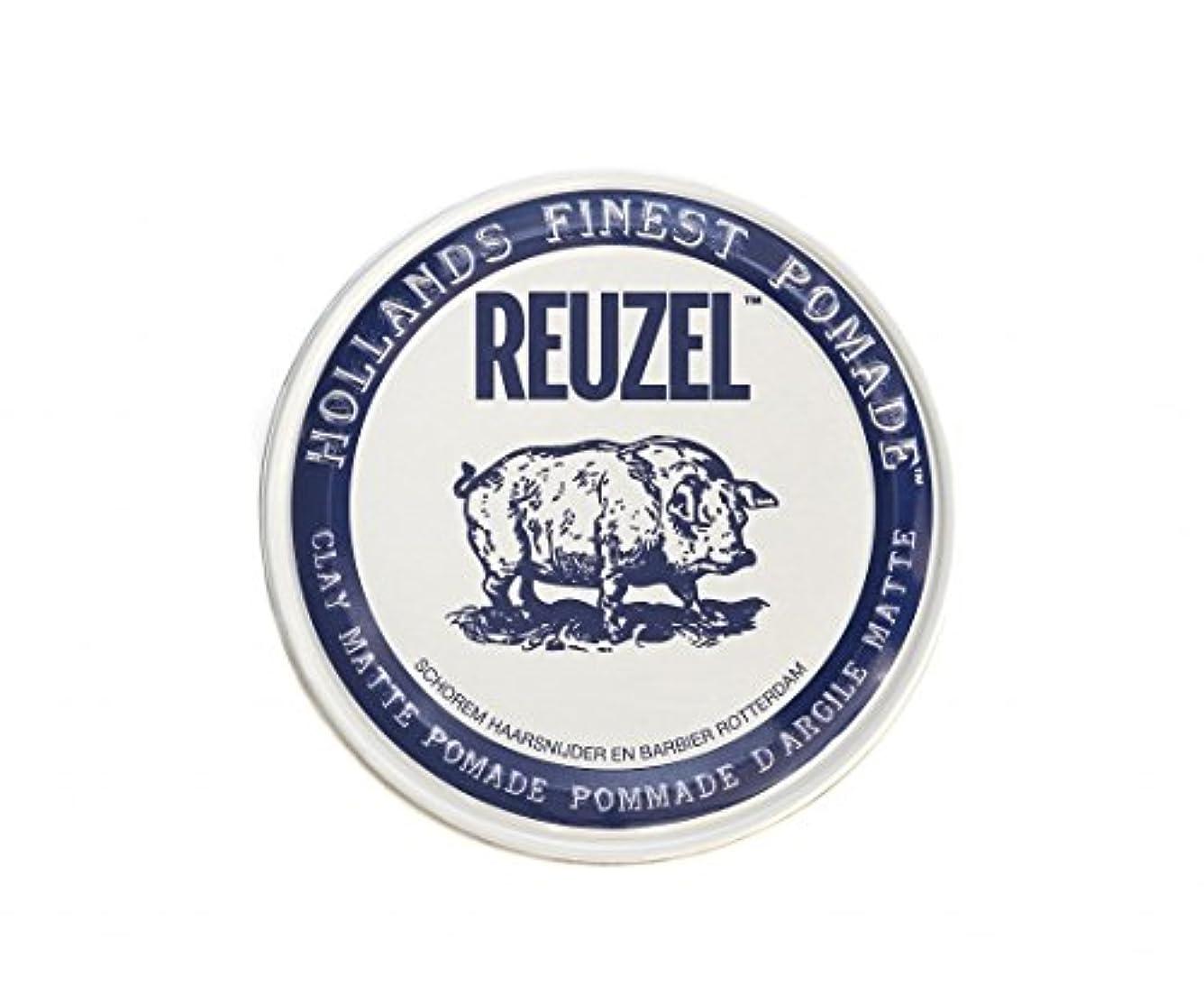 覚えている騒々しい言及するルーゾー REUZEL CLAY MATTE クレイマット ポマード ホワイト 35g