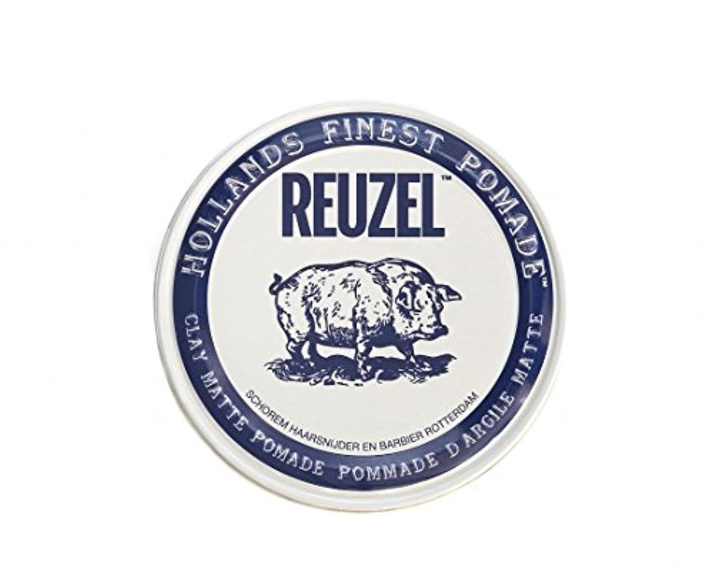 野生処方する垂直ルーゾー REUZEL CLAY MATTE クレイマット ポマード ホワイト 35g