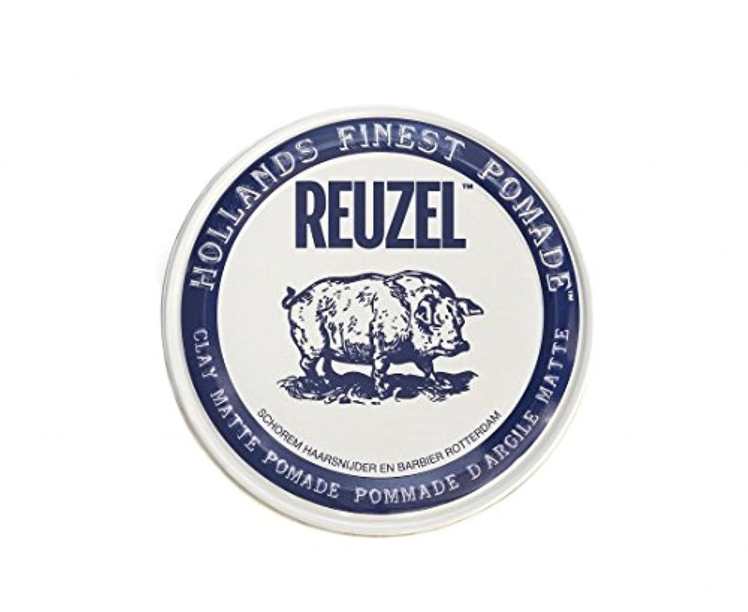 ぬいぐるみ変化アレルギー性ルーゾー REUZEL CLAY MATTE クレイマット ポマード 340g
