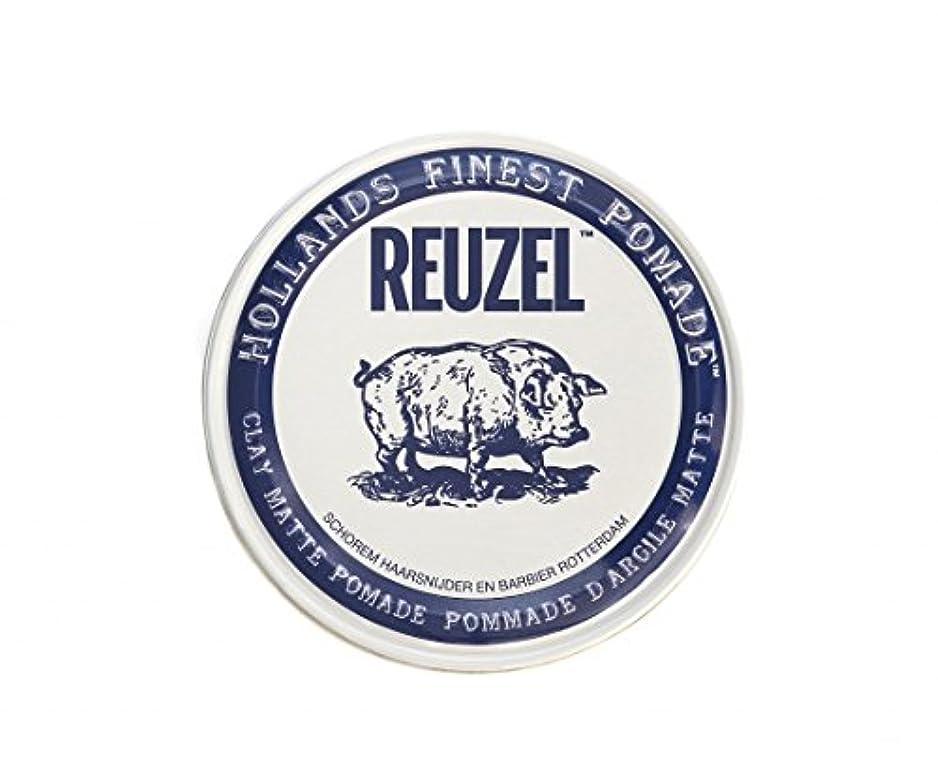 種不完全連続的ルーゾー REUZEL CLAY MATTE クレイマット ポマード 340g