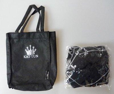 シュシュ(ミニバッグ付き) KAT-TUN 「LIVE TO...
