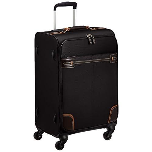 [エース] ace. スーツケース グラレーン 53L 四輪 35713 01 (ブラック)
