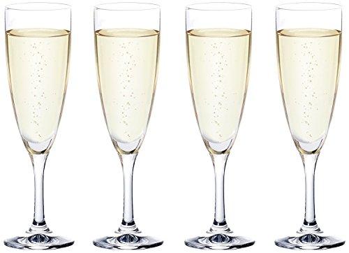 アデリア シャンパングラス フラネ シャンパン 4個セット 165ml 食洗機対応 S5633
