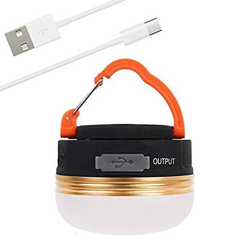 LEDランタン USB充電式 アウトドアライト 3つ調光モード 小型で軽量 IP65防水 モバイルバッテリー機能付 マグネット式 アウトドア&登山 夜釣り 停電用 防災対策
