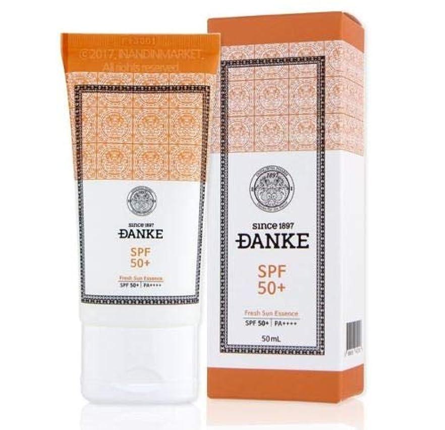 下着適度に応用DANKE ダンケ Fresh Sun Essence サンエッセンス (50ml) SPF 50+ / PA++++ 韓国 日焼け止め DONGWHA PHARM