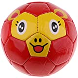 Perfeclan キッズ ベビーアニマルボール ソフトボール こども 赤ちゃん サッカーボール お遊戯ファーストボール 赤