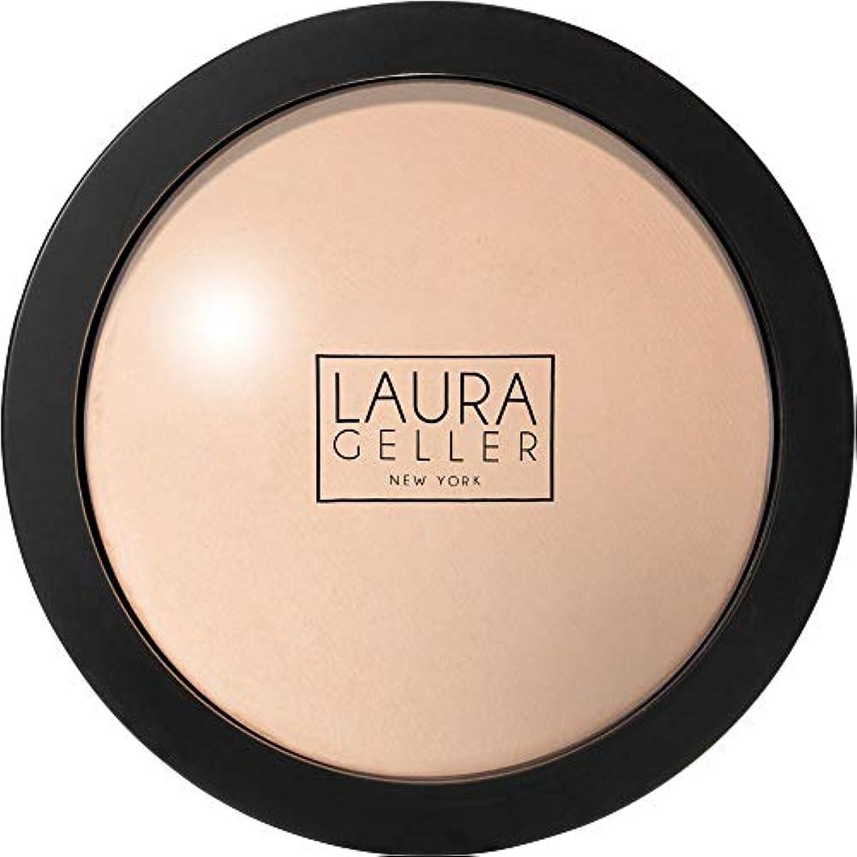 部族フレームワーク些細[Laura Geller] ローラ?ゲラーは、二重焼きパウダーファンデーション10Gの磁器を取ります - Laura Geller Double Take Baked Powder Foundation 10g Porcelain...