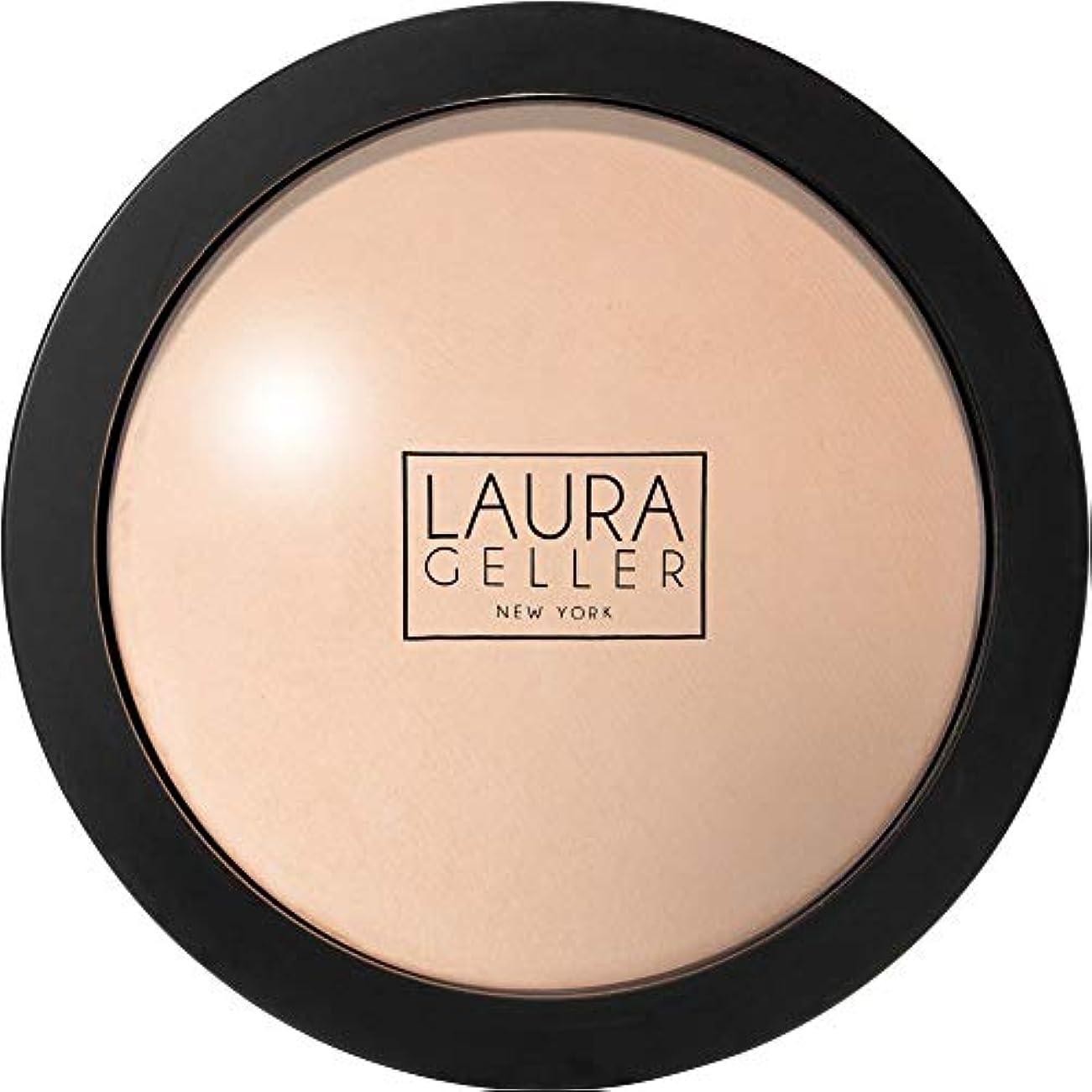 切り刻むジェム結婚[Laura Geller] ローラ?ゲラーは、二重焼きパウダーファンデーション10Gの磁器を取ります - Laura Geller Double Take Baked Powder Foundation 10g Porcelain...