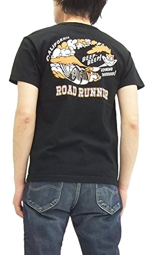 アナニバー優遇逆さまに(チェスウィック) Cheswick ロードランナー Tシャツ CH77292 メンズ 半袖tee 119ブラック