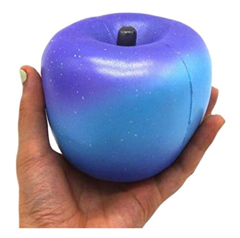 ふく福 綺麗な星空 リンゴスクイーズ低反発おもちゃ 可愛い飾り 人気ストレス解消 減圧 グッズ 減圧玩具 知育おもちゃ 香り付き 子供と大人用 誕生日 プレゼント