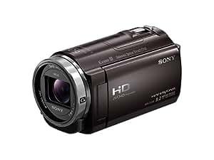 SONY ビデオカメラ Handycam CX535 内蔵メモリ32GB ボルドーブラウン HDR-CX535/T