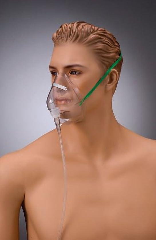 低いミキサー実質的にクリア酸素フェイスマスクU NK-3671 10個入 (ユニバーサルコネクター) 成人用
