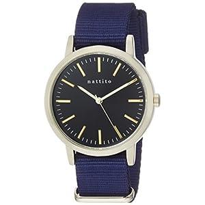 [フィールドワーク]Fieldwork 腕時計 ファッションウォッチ エルー アナログ ナイロンベルト ネイビー QKS137-7