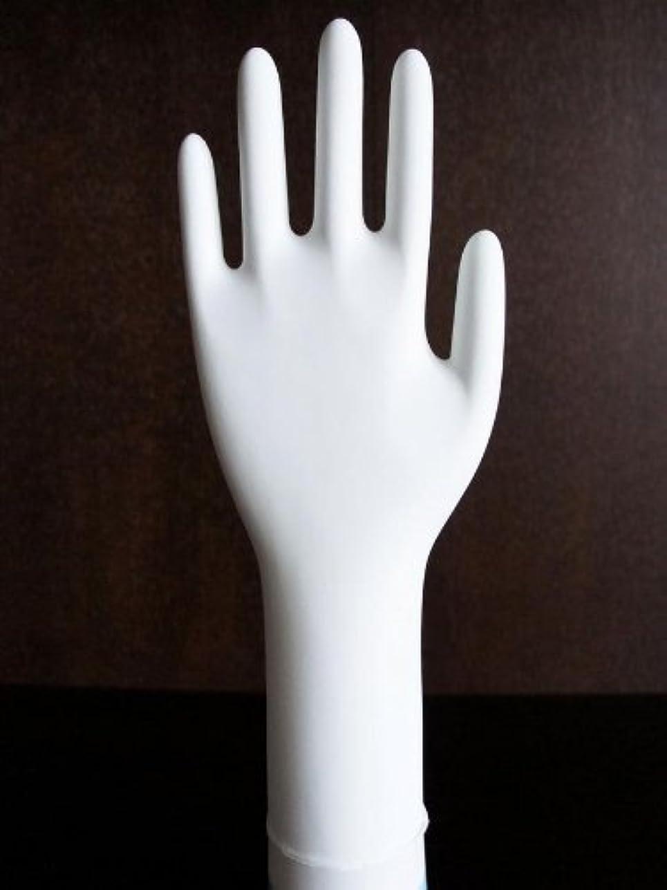 左熟読インチ三高サプライ ニトリル手袋 クラス100 クリアグリップ ロング(半透明) GN09 100枚入り XS