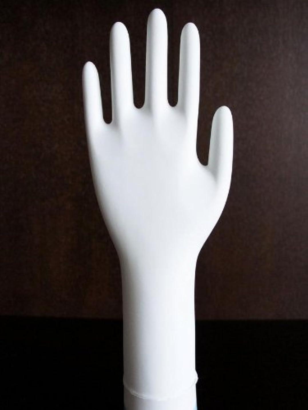 メンダシティ金額勤勉な三高サプライ ニトリル手袋 クラス100 クリアグリップ ロング(半透明) GN09 100枚入り XS