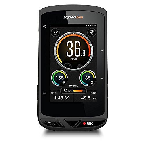 【本体、マウントのみ】Xplova(エクスプローバ) X5-Evo (X5 エボ) / HDビデオカメラ搭載 GPSサイクルコンピュータ / ドライブレコーダー機能搭載