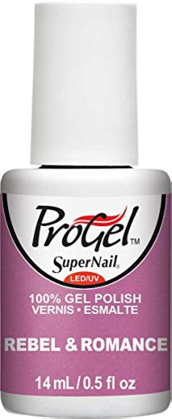 小売スナップの間でSuperNail ProGel Gel Polish - Rebel & Romance - 0.5oz/14ml
