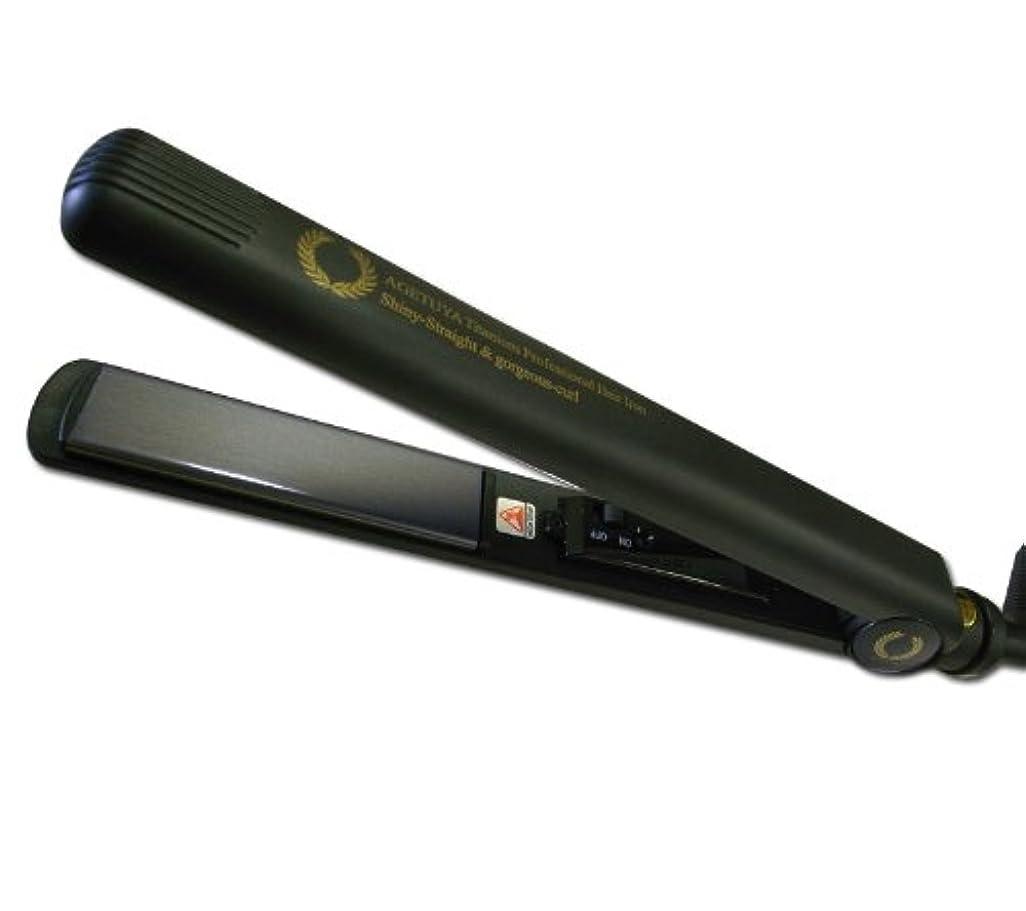 証人許す奨学金アゲツヤ チタニウムプレート プロフェッショナルヘアアイロン 220℃ 43203-30746 (海外非対応)