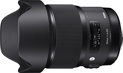 SIGMA 単焦点広角レンズ Art 20mm F1.4 DG HSM ニコン用 フルサイズ対応