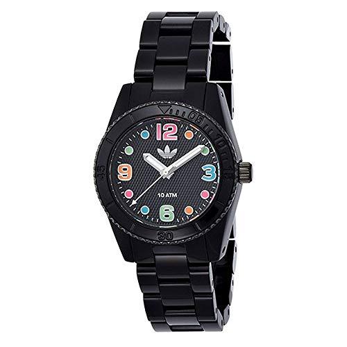 [アディダス] adidas 腕時計収納BOX付 ブリスベン ミニ マルチカラー ブラック ADH2943 腕時計 [並行輸入品]