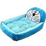 ペットベッド 冬用 可愛い 猫ベッド 洗える 犬ベッドおしゃれ ふわふわ あったか 犬小屋 ペット ベッド 猫 犬ベッド 人気 かわいい 愛犬愛猫寒さ対策 ペット用品 (ドラえもん)
