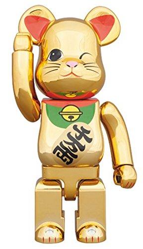 東京ソラマチ限定 BE@RBRICK 招き猫 金メッキ四 400%