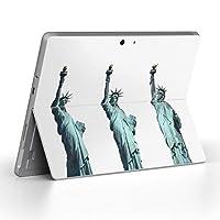 Surface go 専用スキンシール サーフェス go ノートブック ノートパソコン カバー ケース フィルム ステッカー アクセサリー 保護 風景 外国 写真 009321
