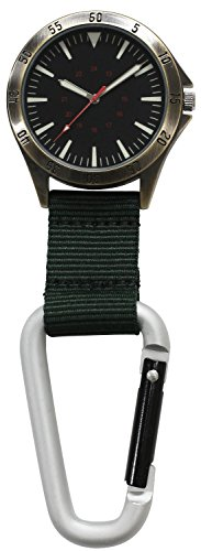 [해외][쿠레화] CREPHA 후크 시계 아날로그 3 기압 방수 블랙 카키 CB-A4154-BKK/[CREPHER] CREPHA hook watch analog 3 ATM water resistant black khaki CB - A 4154 - BKK