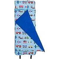 Wildkin Olive Kids Train, Planes and Trucks Nap Mat by Olive Kids おもちゃ【並行輸入品】