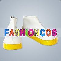 ★サイズ選択可★男性26CM UA0183 VOCALOID 鏡音リン・鏡音レン コスプレ靴 ブーツ