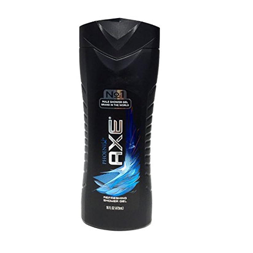 マガジン勝利広いAXE(アックス) Shower Gel(ボディソープ) 473ml (Phoenix) [並行輸入品]