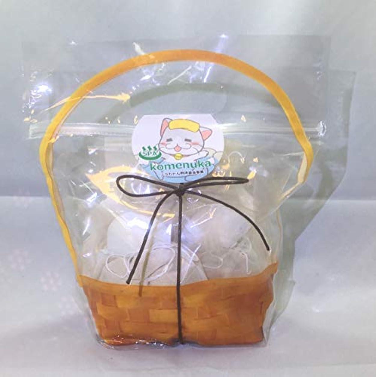 誤解させる木材内向き【ジロちゃんの米ぬかSPA】米ぬか入浴剤 有機栽培米ぬか100%ぬか袋 米ぬか入浴剤 無添加 個別包装