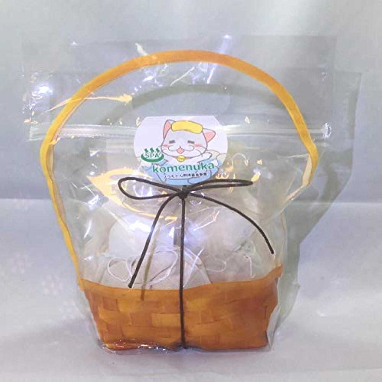 発音トイレ分析的【ジロちゃんの米ぬかSPA】米ぬか入浴剤 有機栽培米ぬか100%ぬか袋 米ぬか入浴剤 無添加 個別包装