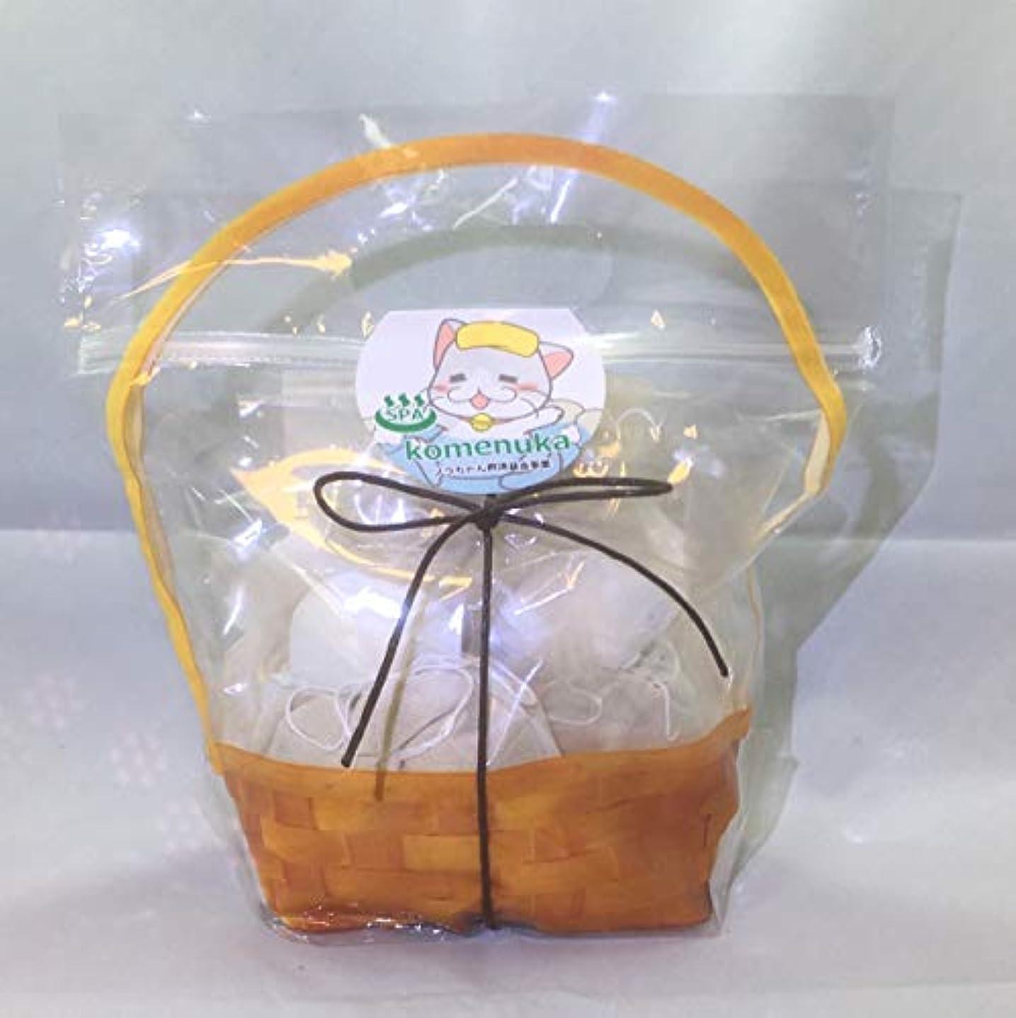 【ジロちゃんの米ぬかSPA】米ぬか入浴剤 有機栽培米ぬか100%ぬか袋 米ぬか入浴剤 無添加 個別包装