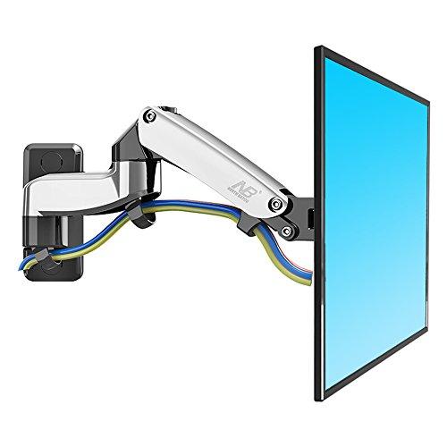[해외]NORTH BAYOU 액정 TV 벽걸이 브래킷 모니터 암 액정 디스플레이 암 LED LCD 가스 스프링 17-27 인치 내하 2.0 ~ 7kg 좌우 이동할 수있는 각도 조절/NORTH BAYOU LCD TV Wall mount bracket Monitor arm LCD display arm LED LCD Gas Spring 17-27 in...