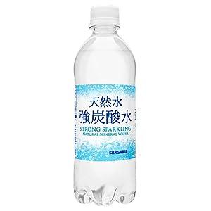 日本サンガリア 天然水強炭酸水 500ml×24本
