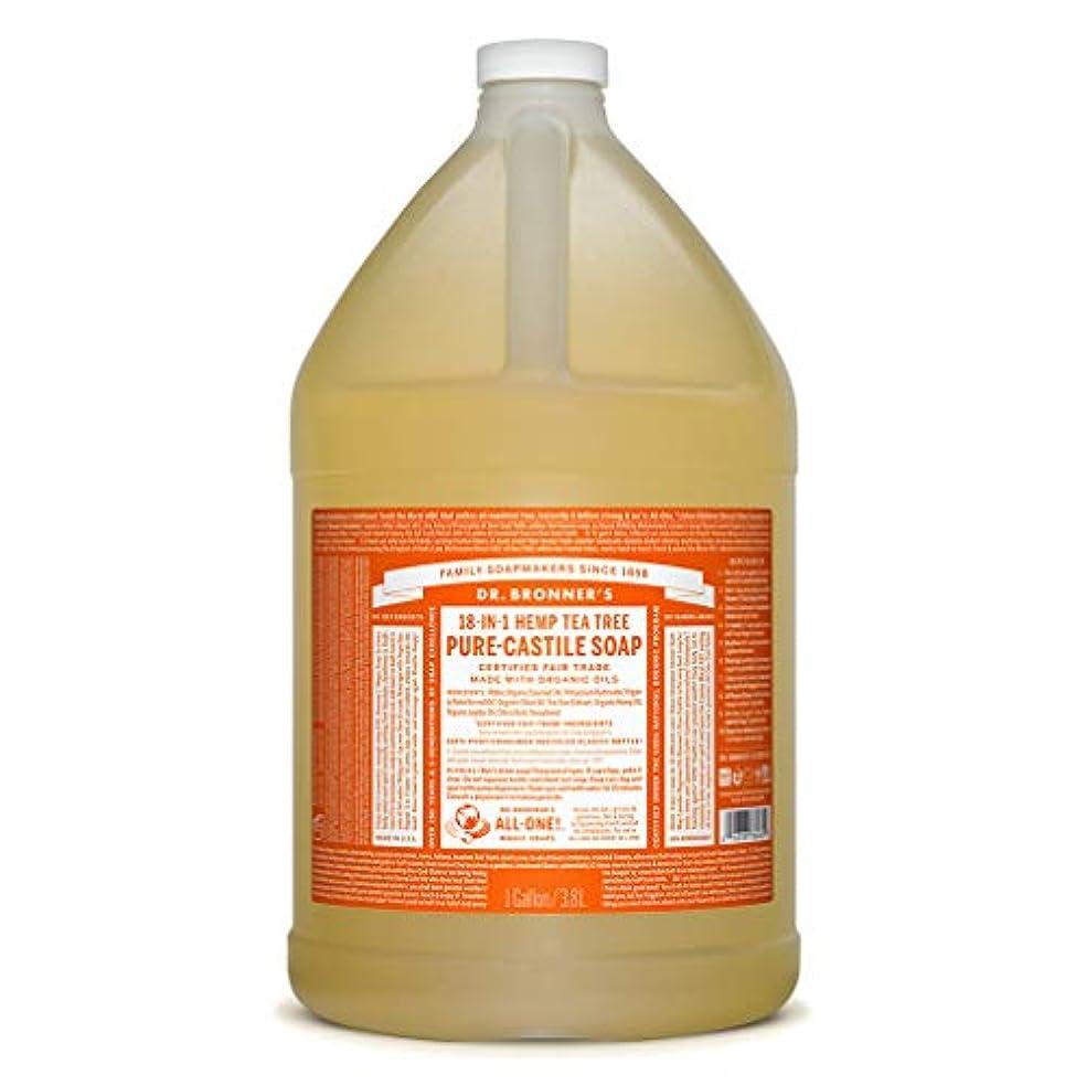 いたずらな判決水ドクターブロナー マジックソープ液体 ティーツリー 3776ml