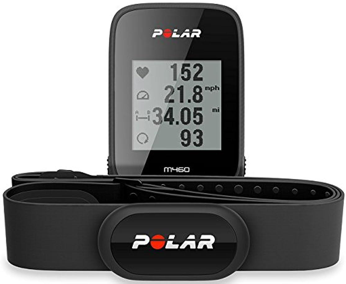救い海民族主義POLAR(ポラール) M460 GPS搭載 サイクルコンピュータ HRM付き 90065172 [並行輸入品]