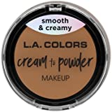 (3 Pack) L.A. COLORS Cream To Powder Foundation - Soft Honey (並行輸入品)