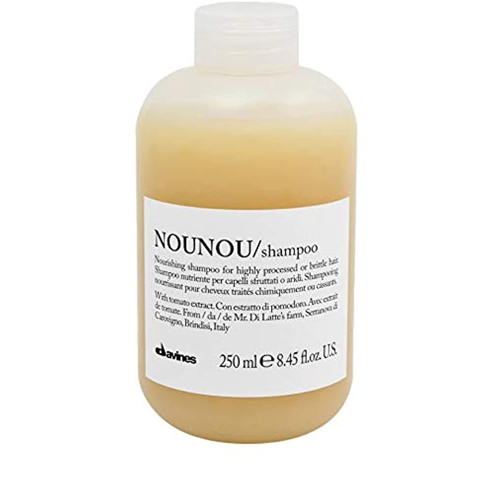 花瓶原告仕出します[Davines ] ダヴィネスノウノウシャンプー250ミリリットル - Davines Nounou Shampoo 250ml [並行輸入品]